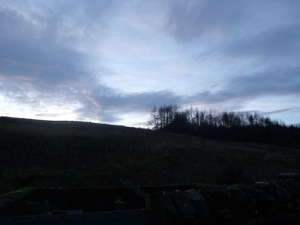 Dusk on the fells