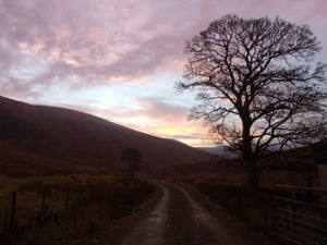 Sunrise over the fells